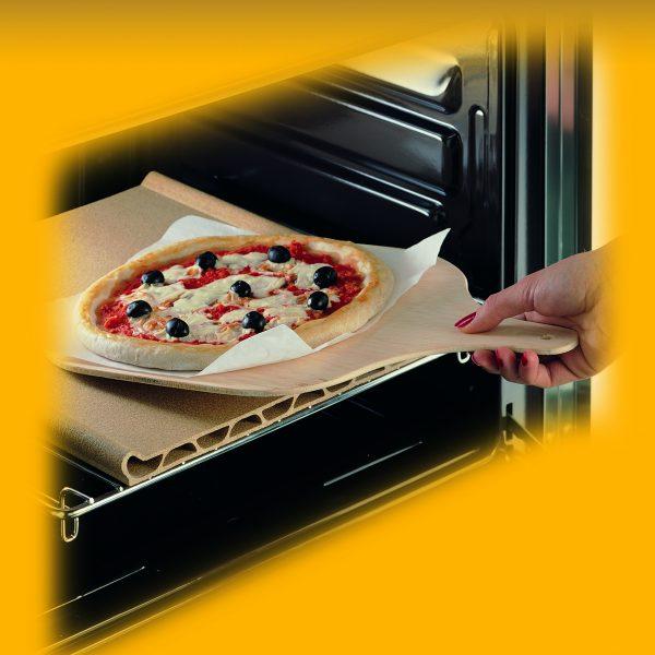 Pietra da forno per pizza pepita - Piastra refrattaria per forno casalingo ...
