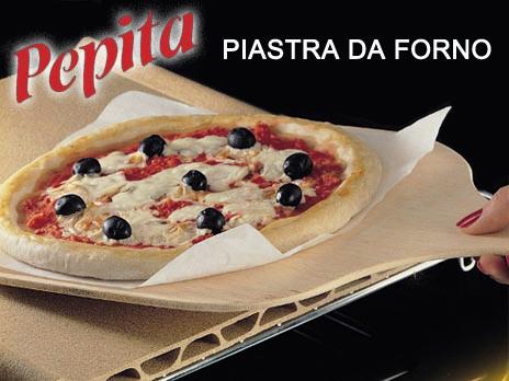 Pietra per Pizza Accessori per Cuocere Pane e Pizza Fatti in Casa 38x38x1.5cm Pietra per Pizza Rotonda in Cordierite per Forno e Barbecue